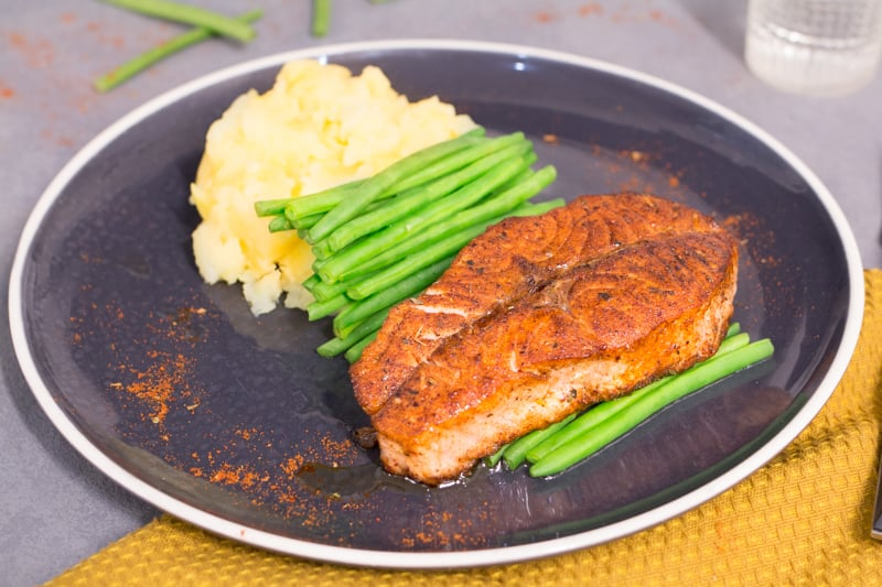 Recette USA - Blackened Saumon