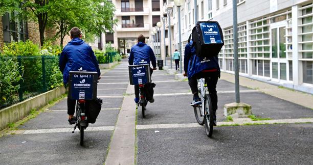 Livreurs à vélo FoodChéri